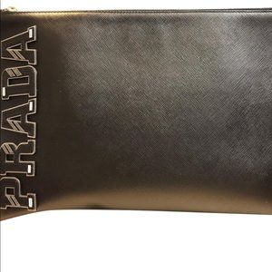 Prada character pouch